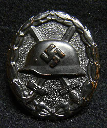 My New Wound Badges