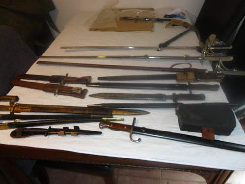 "Some ""new"" Swords and Bayonets"