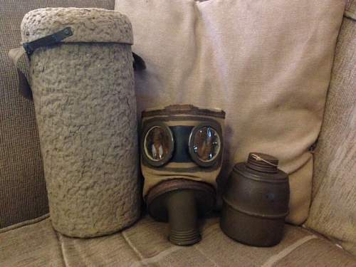 Instant Gas Mask Collection
