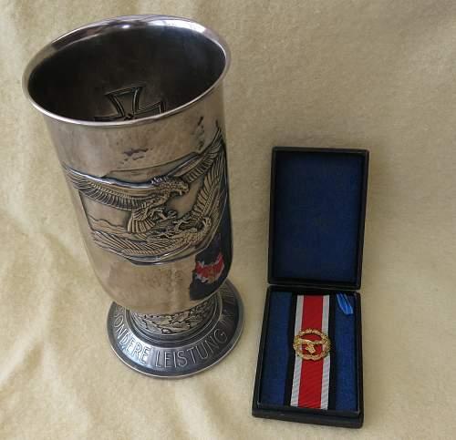 Honour Roll Clasps. (KM, Luftwaffe & Heer)