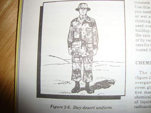 Desert Storm manuals and field book's