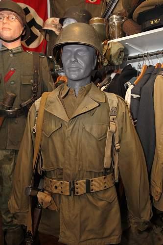 U.S. uniform display