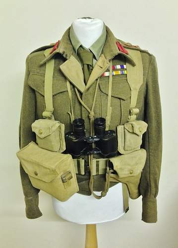 WW2 British Officers Uniform and Equipment