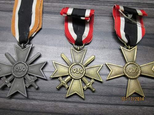Kriegsverdienstkreuz 2.Klasse