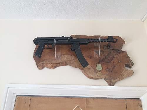My PPSH Display made by my own fair hands!