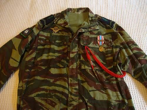 French Foreign Legion in Algeria display