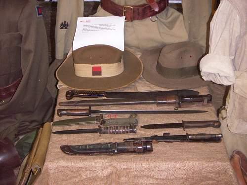 Tasmanian Midlands Military Meet 2014 display
