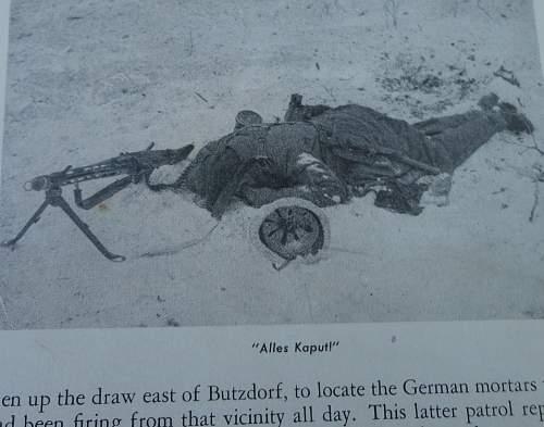 Some Field Gear on a Half Bust Heer Normandy Man