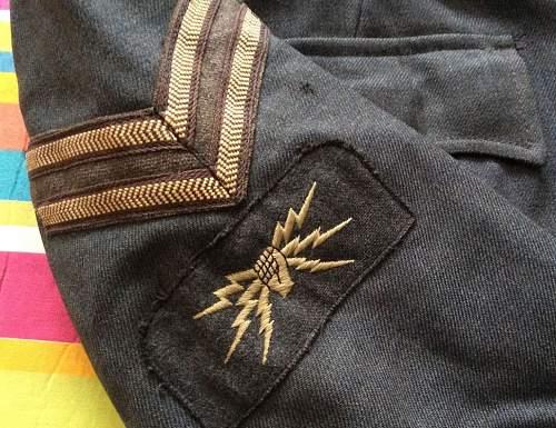 1950s RAF Dress Jacket