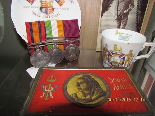 Boer War Shelf, Very Small....
