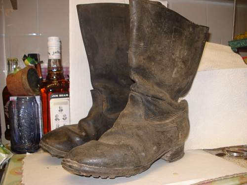 Jack boots from russian front