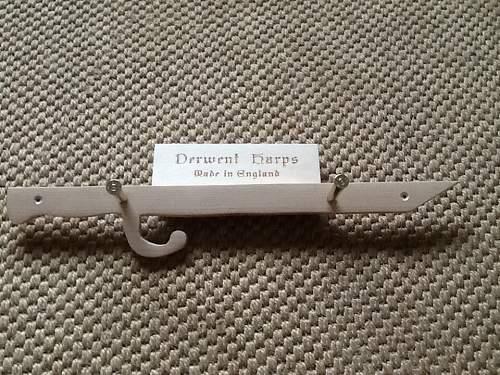 Bayonet/.303 case coat hooks