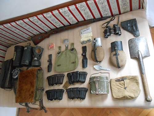 My collection of ww2 german equipment