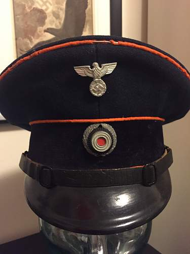 My HJ items, and a police helmet, more to follow later
