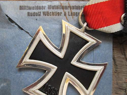 Another couple of pristine 2nd class iron crosses