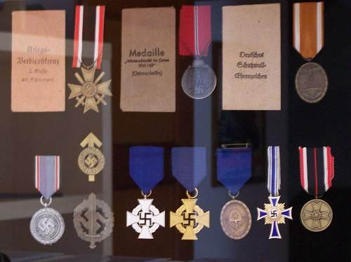 My Third Reich medals and badges