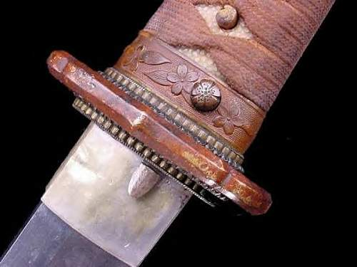 WWII Japanese shin gunto sword