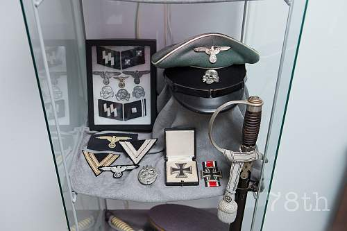 SS collection displayed