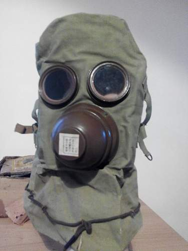 New Japanese gas mask in the collection!
