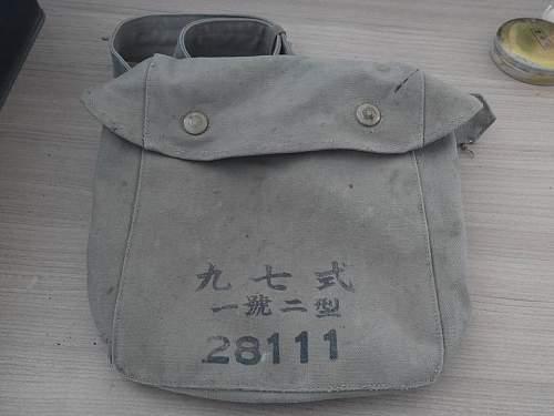 Imperial Japanese Navy Radio Operator Gas Mask
