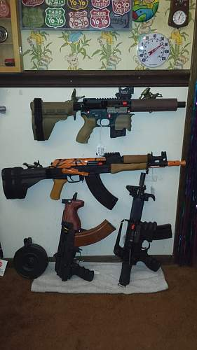 A glimpse of my little collection.
