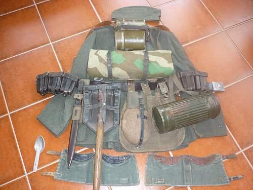 Full Set of German Infantryman's Equipment