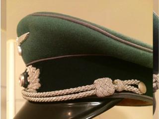 Rare visor caps of the Third Reich