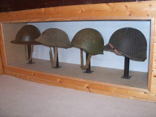 my old helmet room