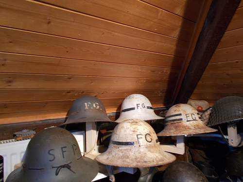 my old helmet room