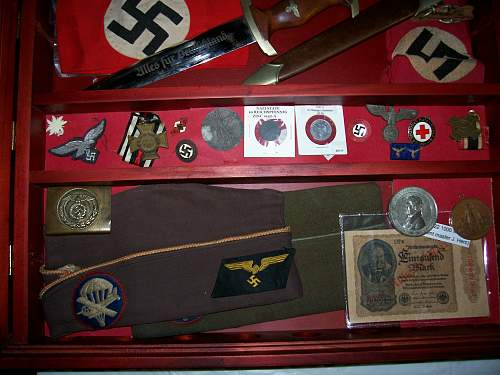 US Airborne veterans display at history event