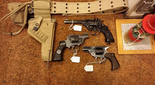 Click image for larger version.  Name:38 S & W revolvers.jpg Views:1023 Size:147.3 KB ID:928621