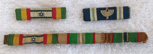 IDF campaign ribbons