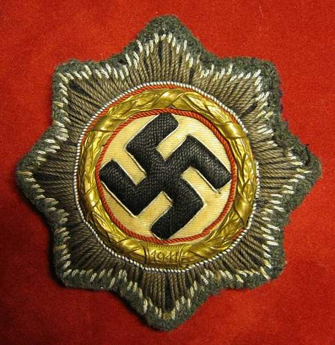 Click image for larger version.  Name:001 German Cross in Gold cloth 1.jpg Views:500 Size:118.6 KB ID:93055