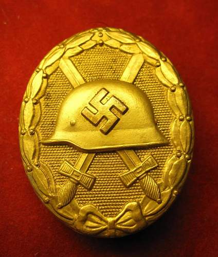 Click image for larger version.  Name:034 Wound Badge in Gold.jpg Views:623 Size:81.0 KB ID:93063