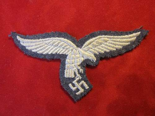 Click image for larger version.  Name:207 Breast Eagle Luftwaffe Obergefreiter`s service Tunic.jpg Views:215 Size:65.8 KB ID:93168
