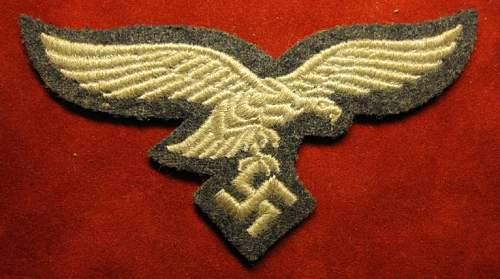 Click image for larger version.  Name:208 Luftwaffe Breast Eagle  EM.jpg Views:185 Size:57.7 KB ID:93169
