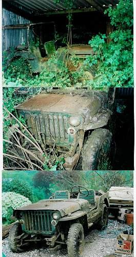 Resturation of 1944 Ford Jeep