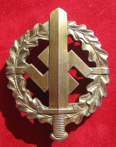 Click image for larger version.  Name:031 SA Defence Badge Bronze.jpg Views:175 Size:86.1 KB ID:93883