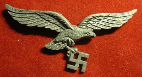 Click image for larger version.  Name:201 Luftwaffe Cap Eagle FLL.jpg Views:1685 Size:201.9 KB ID:94136