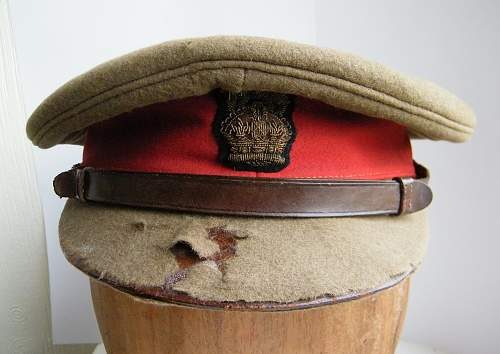 Click image for larger version.  Name:Baron Tredegar's Staff officers cap from WWI #1.jpg Views:13 Size:243.7 KB ID:946664
