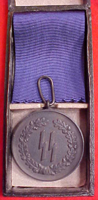 SS Long Service Medals