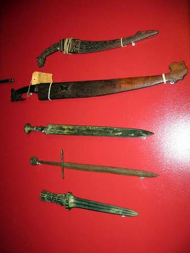 My antique sword collection