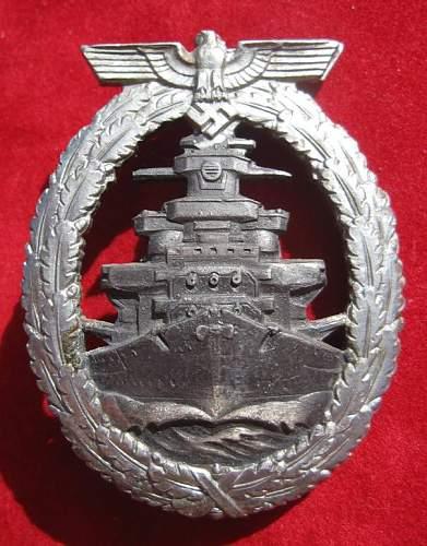 Click image for larger version.  Name:012 High Seas Fleet Badge Adolf Bock.jpg Views:214 Size:84.7 KB ID:95550