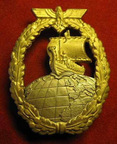 Click image for larger version.  Name:014 Auxiliary Cruiser war Badge AUX Juncker.jpg Views:235 Size:61.3 KB ID:95574