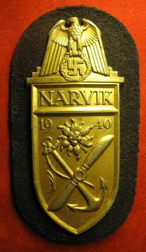 Click image for larger version.  Name:026 Narvik Badge KM.jpg Views:184 Size:221.0 KB ID:95575