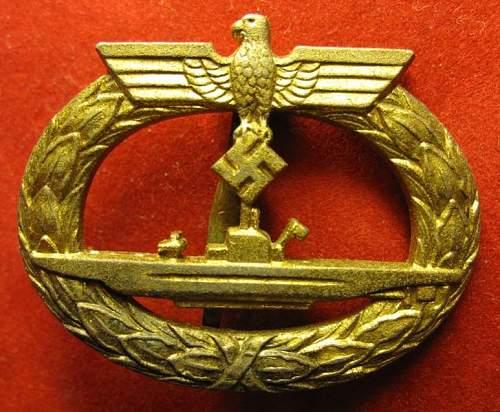 Click image for larger version.  Name:037 U-Boat Badge Deumer.jpg Views:791 Size:76.9 KB ID:95576