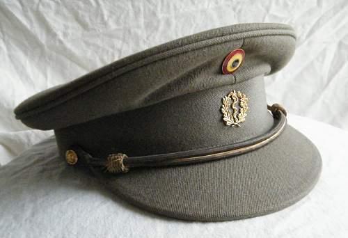 Click image for larger version.  Name:Belgian medical officers cap 1.jpg Views:12 Size:235.9 KB ID:967060