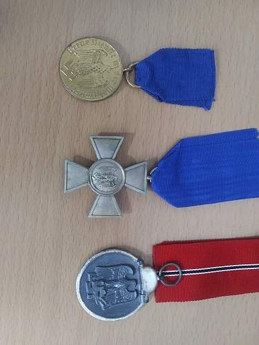 New medals for my collection
