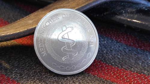 Several tokens from different countries!
