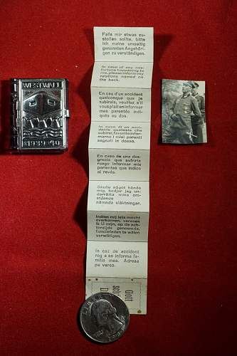"""Axis and Allied Militaria Odds Ends and Ephemera"""